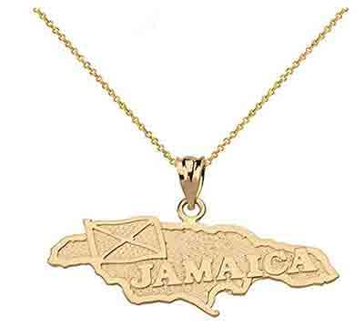 Jamaican necklace Rasta Gear Shop Clothing merchandise and accessories.