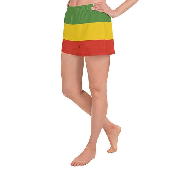 Rasta Shorts. These athletic women's short boardshorts with pockets are so comfy and very versatile. Rasta Gear Shop shorts and clothing.